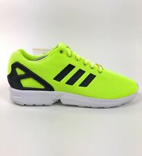 Adidas Originals ZX Flux Electric Yellow White Mens Low Size 11 Shoes M22508