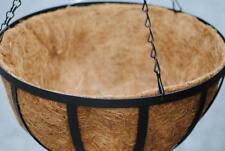 Blumenampel,Metall mit Kokoseinlage,30cm