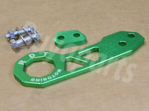 GEN 2 GREEN Anodized Aluminum Rear Tow Hook for 1994-2001 Acura Integra RSX DC5