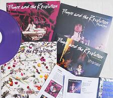 """PRINCE 12"""" x 4 Purple Rain PURPLE VINYL 2017 I Would Die REMIX Lets Go Set"""