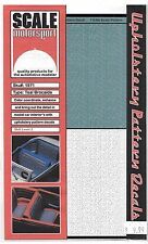 Scale Motorsport Upholstery Pattern Decals, Teal Brocaide 1/24 SMO 1971 ST