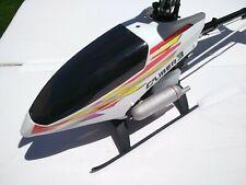Caliber 3 Kyosho gasolina Helicópter Rc + manual