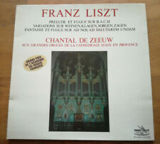 Franz Liszt - Prélude et fugue - Chantal de Zeeuw - Pierre Verany PV 83041