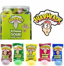 WARHEADS EXTREME SOUR HARD American CANDY TUB x 240