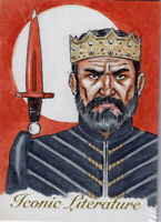 Iconic Literature 2018 King Arthur By Can Baran SKETCH CARD