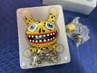 """Kidrobot Oil Slick Dunny 8"""" Yellow T10DY002 - NICE!!! - FREE SHIPPING!!!"""