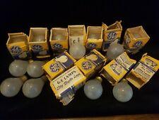 Rare ES 30volts 50watt GE light bulbs Job Lot of 20