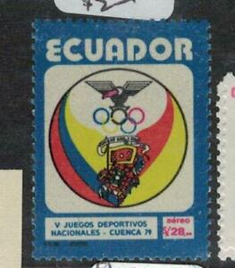 Ecuador SC C660 Olympics MNH (6eel)