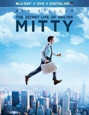 The Secret Life of Walter Mitty Blu-ray 2013 Ben Stiller 2 Disc DVD