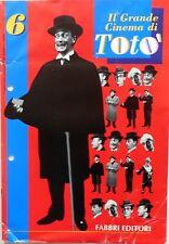 FASCICOLO IL GRANDE CINEMA DI TOTO N.6  FABBRI EDITORI 1994