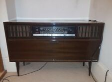 More details for rare, working vintage grundig radiogram with fm radio and turntable (1960s)