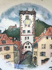 Henri Loux  Obernai Sarreguemines Alsace  Cendrier   10