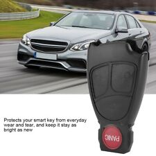 for Mercedes-Benz  Remote Flip Key Fob Case Blade Cover Shell 3+1 Button