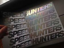"""SPEEDHUNTERS 11"""" NEO CHROME VINYL CAR STICKER"""