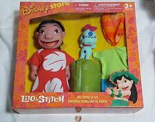 "NEW (Read) Disney Store Lilo & Stitch Doll Dress Up Set 10"" Figure toy & clothes"