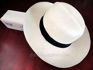 Genuine Optimo Straw Panama Hat - EXTRA FINO All Sizes - [Montecristi - Ecuador]