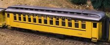 On3/On30 WISEMAN SM-106 D&RGW CLOSED VESTIBULE COACH PASSENGER CAR KIT