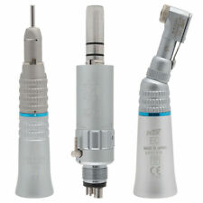 Dental Low Speed Handpiece Kit 4 Holes Straight Contra Air Motor Midwest M4