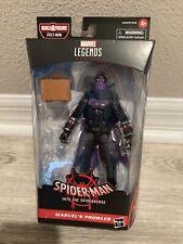 Marvel Legends Spider-Man Into the Spider-verse PROWLER - No Stilt Man BAF
