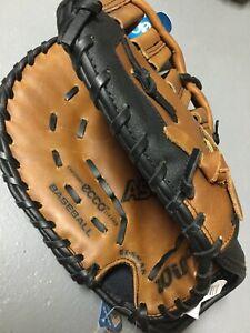 """New Wilson A500 ZSBM-12"""" Baseball Softball First Base Mitt Left Hand Throw Ecco"""