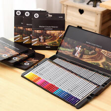 [PF] 72 Wooden Color Pencil Professional Artist Drawing Set Sketch Iron Case