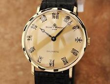 Baume & Mercier Baumatic 18k Solid Gold Swiss Men's 34mm Automatic Watch  LV4