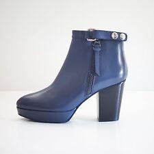 """Acne Studios Blue Leather """"Orbit"""" boots EU 40 US 10"""