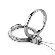 Bakeey Universal 2 In 1 Phone Ring Holder & Phone Holder Lanyard Finger Buckle