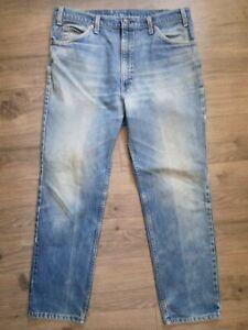 VTG Men's Levis 509 Orange Tab Regular Straight Leg Faded Wash Jeans USA 38x30
