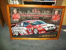 Holden Racing Team 2002-Mark Skaife/Jason Bright-Framed and ready to hang