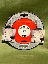 Madonna BOY TOY 1990 Blond Ambition Express Yourself RECORD LP Earrings JB2