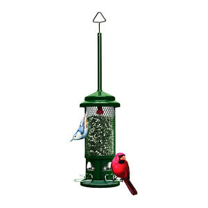 Brome Squirrel Buster Standard Squirrel Proof Bird Feeder with 4 Metal Perches