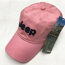 1PC Pink Jeep Hat Cap Women Solid Baseball Golf Ball Sport Hats Adjustable Caps