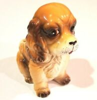 Cocker Spaniel Vintage Ceramic Indoor Planter cute Puppy Dog