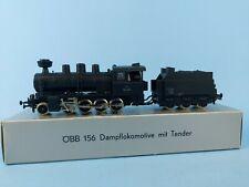 H0 Kleinbahn 156.3417 ÖBB Dampflokomotive mit Tender OVP
