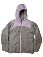 THE NORTH FACE PERSEUS JACKET REVERSIBLE PINK GRAY GIRLS SIZE 10 - 12 MEDIUM