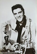 """ELVIS PRESLEY """"50's PUBLICITY SHOT, SMILING & PLAYING GUITAR"""" POSTER FROM ASIA"""