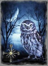 Owls 3  Wall Clock  Makes Great Gifts