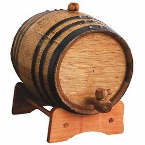 3 Liter Oak Whiskey Wine Barrel