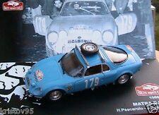 MATRA DJET V #179 1966 RALLYE MONTE CARLO PESCAROLO 1/43 ixo JABOUILLE