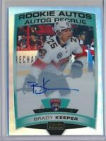 2019-20 O-Pee-Chee Platinum Rookie Rainbow AUTOS R-BK Brady Keeper Panthers