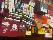 More details for empty cigar cases and boxes macanudo churchill davidoff montecristo assorted