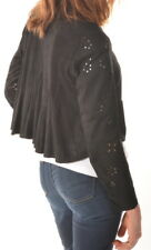 HIGH USE LEDERJACKE JACKE LEDER FIGURBETONT SCHWARZ GR it 44 D 38 NEU VVP 699,-