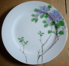 Very Pretty Hand Painted Oriental Dinner Plate Floral #2