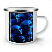 Horror Plague Death Skull NEW Enamel Tea Mug 10 oz | Wellcoda