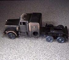 Vintage Die-Cast Transport Truck Pencil Sharpener