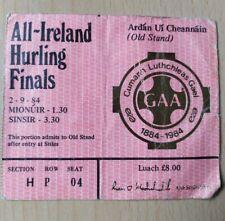 1984 GAA All Ireland Final Hurling Ticket Stub, Cork v Offaly, Centenary Year