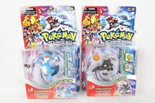2 NIB Pokemon Advanced Toy Lot Zigzagoon Swampert Shroomish Aggron Action Figure