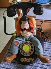~~ Goofy Disney Telemania Vintage Landline Talking Corded Telephone ~~