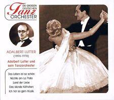 """DIE GRANDES ALEMÁN TANZORCHESTER """"Adalbert Lutter & sein Tanzorchester"""""""